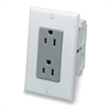 Leviton Single Gang Dual Outlet Kit For SMC