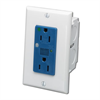Leviton Single Gang Surge Protected Dual Outlet Kit For SMC