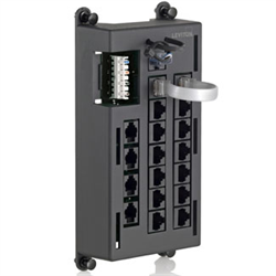 Leviton Telephone Input Distribution Panel 4x12