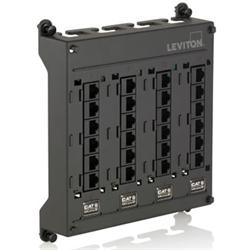 Leviton Twist and Mount 24 Port CAT5E SMC Module