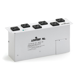 Leviton AC Power Module 6 Outlets With Surge for SMC