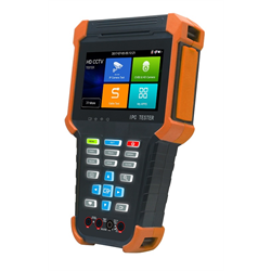 Camera Tester for ONVIF, IP H.264, H.265,CVBS,TVI,HDCVI,AHD,SDI, 4 Inch Touch