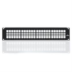 Leviton 48 Port 2U Quickport Patch Panel with Cable Management Bar