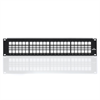 Leviton 48 Port 2U Quickport Patch Panel with Cable Management Bar