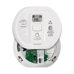 Ei Electronics Battery Powered ZWave Carbon Monoxide CO Detector with Display