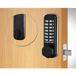 Codelocks Tubular Deadbolt Flat Black