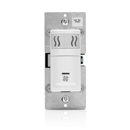 Leviton Iphs5 1lw Humidity Sensing Fan Switch