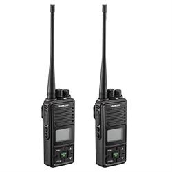 Samcom Digital Wireless Portable Intercom 2 Pack