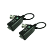 Azco HD Video Balun, HD CVI, TVI, AHD, MPX, XVI over CAT5 with Pigtail BNC, Pair