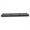 Platinum Tools Patch Panel, 24 Port, Cat6, 110 Punchdown