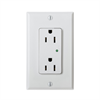 Leviton Decora Duplex Receptacle With Built In Surge Protection