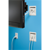 Additional images for Arlington Flat Screen TV Bridge II Recessed Power and Low Voltage Kit
