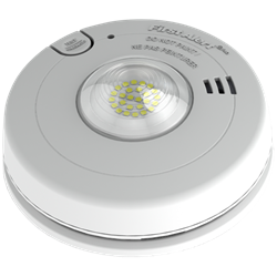 BRK 120V Wired Smoke Alarm, 10 Year Battery, LED Strobe for Hearing Impaired