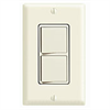 Leviton Decora 3 Way AC Combination Switch Commercial Grade - White