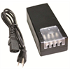 Azco CCTV Power Supply For 4 Cameras, 12 VDC 5A With Screw Terminals