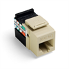 Leviton Quickport Cat 5E Connector Ivory