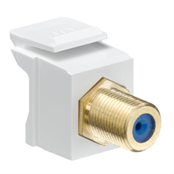 Leviton Quickport Gold Plated F Connector