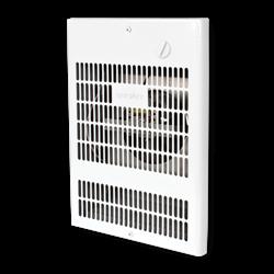 Uniwatt Wall Fan Heater, 1000W 240V, White