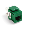 Leviton Quickport eXtreme 6+ CAT5 Insert Green