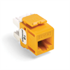 Leviton Quickport eXtreme 6+ CAT6 Insert Yellow