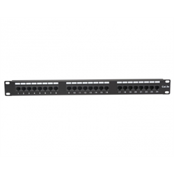 Platinum Tools Patch Panel, 24 Port, Cat5e, 110 Punchdown
