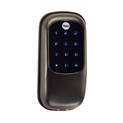 Yale ZWave Plus Touch Screen Key Free Deadbolt, Oil Rubbed Bronze
