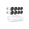 Foscam Security Camera Kit 8 Channel PoE NVR with 8 x 1080p Bullet Cameras