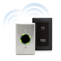 Camden Battery Powered SureWave Wireless Touchless Switch