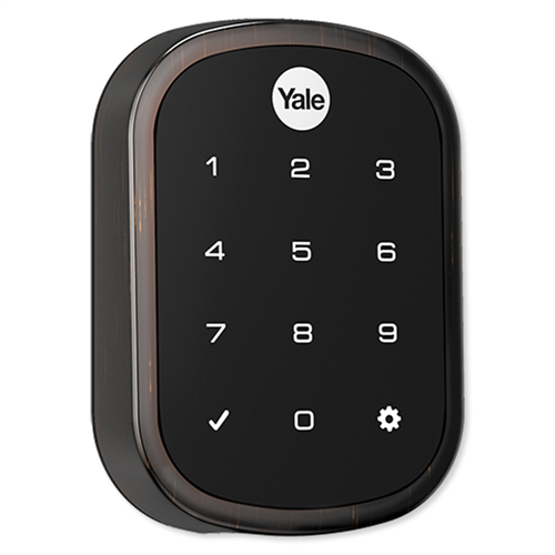 Yrd256 Zw2 0bp Yale Z Wave Slim Key Free Touchscreen