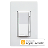 Leviton Decora Smart HomeKit WiFi Universal Wall Dimmer, Incandescent, LED, CFL