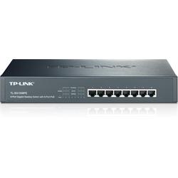 TPLINK 8 Port POE Gigabit Ethernet Desktop or Rackmount Switch