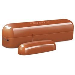 Fibaro Zwave Door Window Sensor, Red Wood