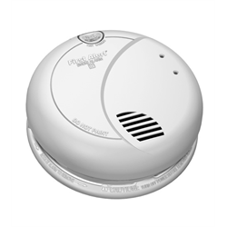 BRK 120V Smoke Detector Photoelectric Battery Backup