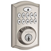Weiser Zwave 11 Button Deadbolt Satin Nickel