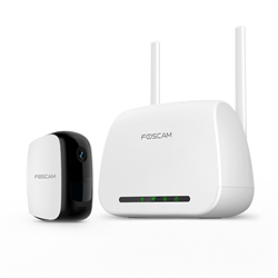 Foscam E1 Battery Powered Wire Free Camera 1080P HD