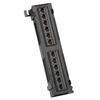 Platinum Tools Patch Panel, 12 Port, Cat6, 110 Punchdown