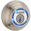 Weiser Kevo Bluetooth Smart Deadbolt Lock, Satin Nickel