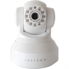 Insteon Indoor High Resolution WIFI Enabled Pan/Tilt Network Camera, White