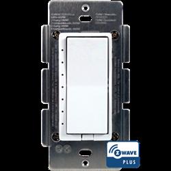 Homeseer WD100+ Zwave Plus Wall Dimmer for Incandescent, LED, CFL