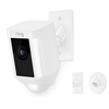 Ring Spotlight Wired Cam With Mount, White