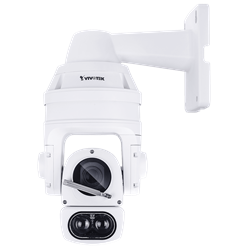 Vivotek Outdoor IP Network Speed Dome Camera, 20xZoom, IR150M, H.265, WDR
