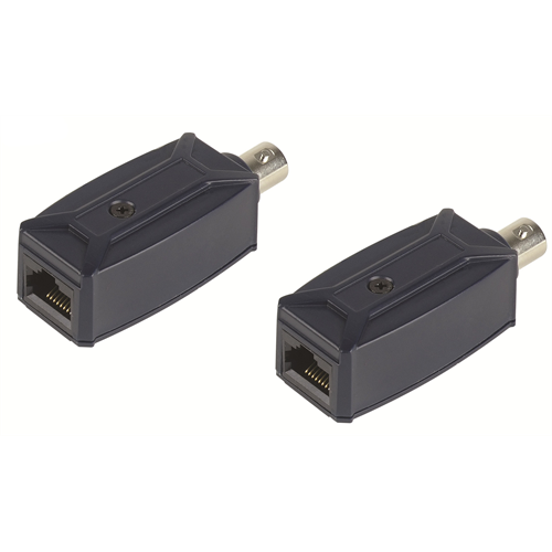 Azco Balun Ip Over Coax Cable For Rg59 Up To 500 Ft Pair