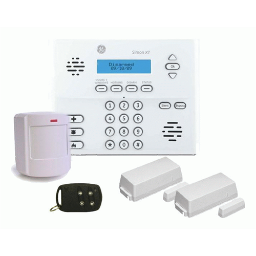 Ge Simon Xt Wireless Security System Package French