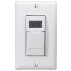 Intermatic Electronic 7 Day Astronomical In Wall Timer White