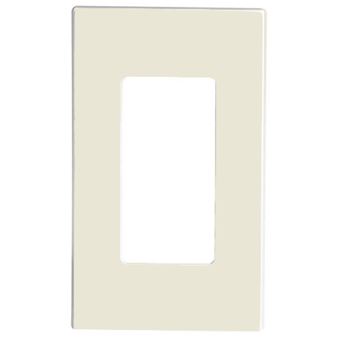 80301 St Leviton Screwless Decora Wallplate 1 Gang Light