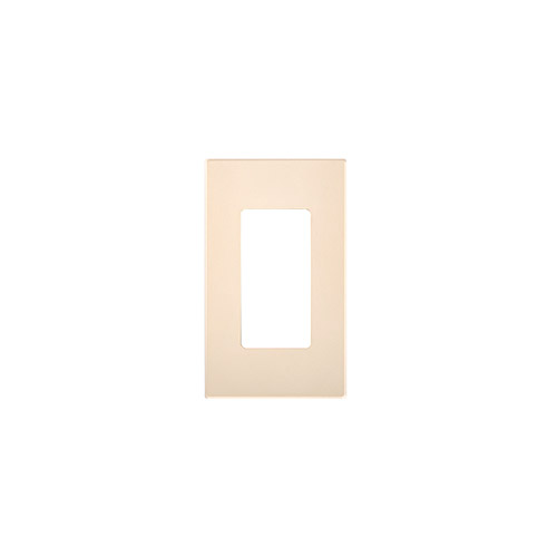 80309 Si Leviton Screwless Decora Wallplate 2 Gang Ivory