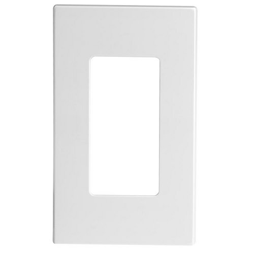 80301 Sw Leviton Screwless Decora Wallplate 1 Gang White