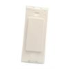 Leviton Decora Plus Standard Size Blank Plate No Holes 1 Gang - White