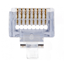 Platinum Tools EZ-RJ45 Cat5e Connector, Jar of 100