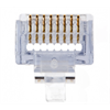 Platinum Tools EZ-RJ45 Cat6+ Connector, Jar of 100